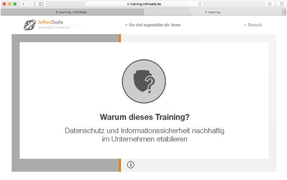 Warum dieses Training?